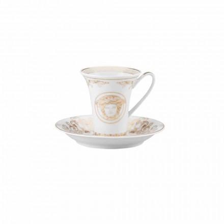 Rosenthal Versace Medusa Gala Cup Porcelán Káva design