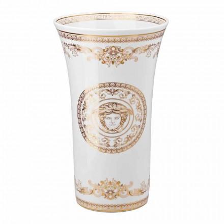 Rosenthal Versace Medusa Gala Design porcelánová váza h 34 cm
