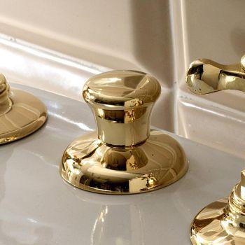 3-otvorový bidetový faucet, vnitřní dodávka v mosazné ruční výrobě - Fioretta