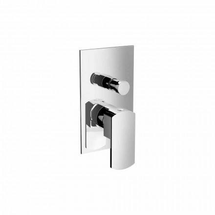 Moderní sprchový nebo vanový směšovač s přepínáním Made in Italy - Sika