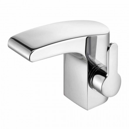 Chrome mosazný umyvadlový faucet bez odtoku, vysoká kvalita - Gonzo