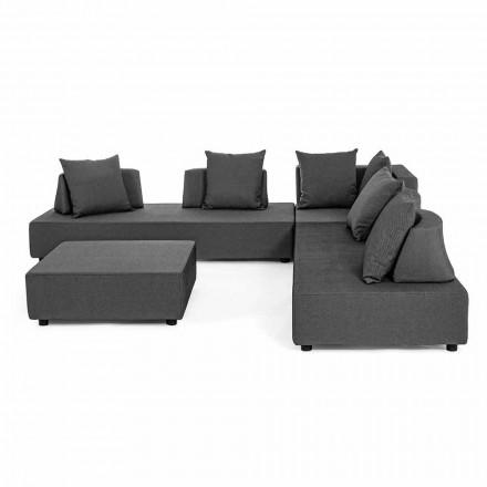 Moderní design Venkovní rohový salonek v Homemotion Fabric - Benito