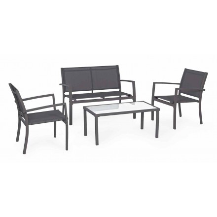 Steel Garden Lounge 4 Accessories Moderní a elegantní design - Bone