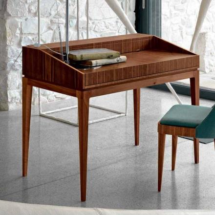 Psaní moderního designu v ořechu, L 105 x W 65 cm, Acario