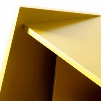 Návrh vícevrstvého dřevěného psacího stolu Grilli Hemingway z Itálie