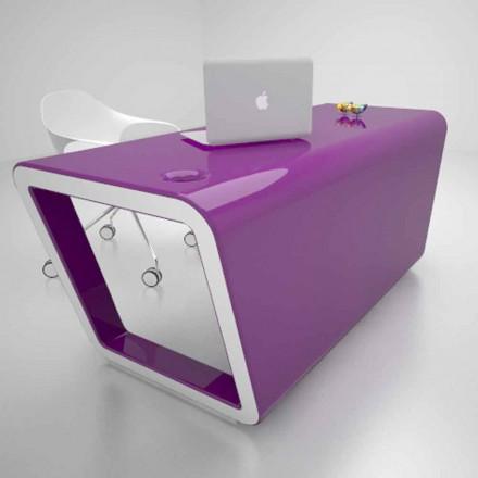Design desk v Solid Surface Ego Vyrobeno v Itálii