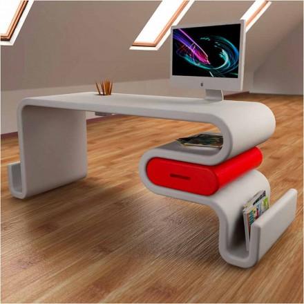 Moderní design kancelářský stůl Flex Made in Italy