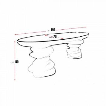 Aldington moderní design kancelářský stůl vyrobený ručně