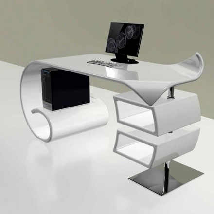 Moderní kancelářský stůl vyrobený v Itálii, Miagliano