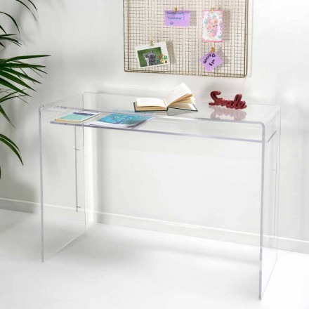 Moderní stůl v průhledné plexisklo vyrobené v Itálii, Barga