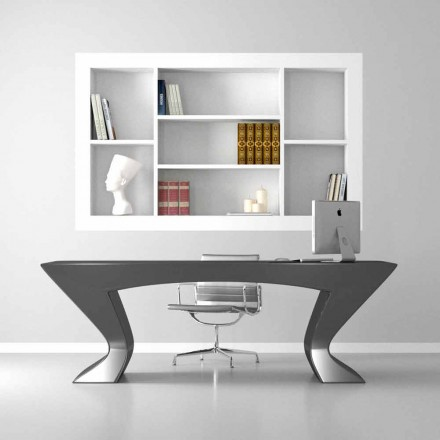 Moderní designový kancelář Nefertiti vyrobený v Itálii