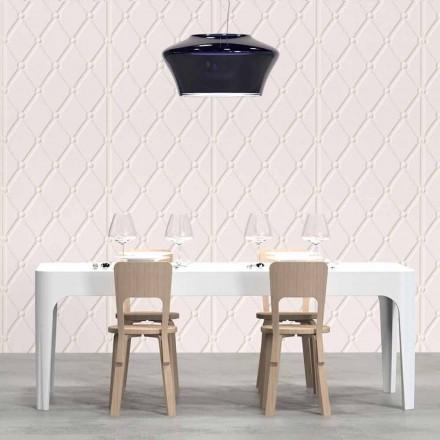 Obdélníkový stůl / jídelní stůl, moderní design, Merlot