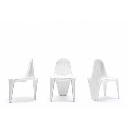 Moderní venkovní židle F3 by Vondom, vyrobená z polyethylenu, 2 kusy