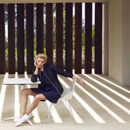 Moderní židle Faz by Vondom, vyrobená z polypropylenu a polykarbonátu, 4 kusy