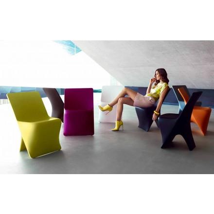 Zahradní židle Sloo by Vondom, moderní design z polyethylenu