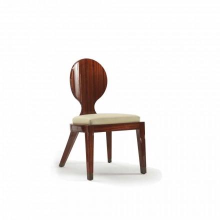 vyztužená konstrukce Jídelní židle ze dřeva hladký, L51xP53cm, Nicole
