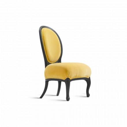 Židle polstrované oběd masivního ořechu, L67xP60 cm, Tati