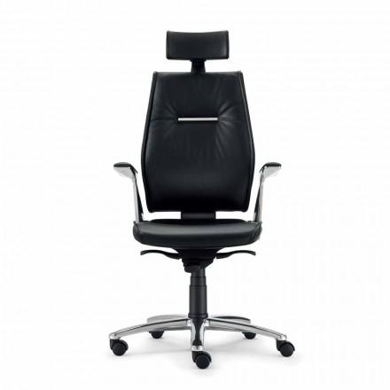 ergonomická kancelářská židle typu hovězí useň Ines
