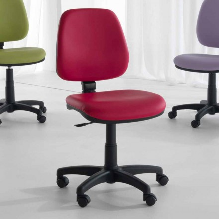 Rotační a ergonomická kancelářská židle v tkáni a eko kůži - Danila