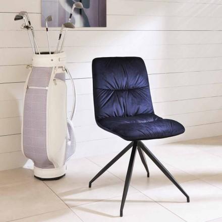 Židle moderní design čalouněný tkaniny Chiara