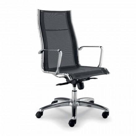 Designová židle vyrobená v Itálii v síti Agata