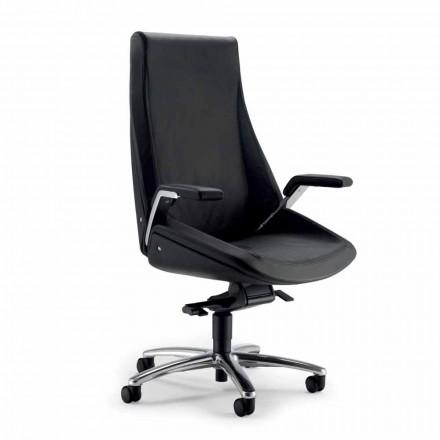 Výkonný židle cowhide Ada Angelo Pinaffo & Gorgi