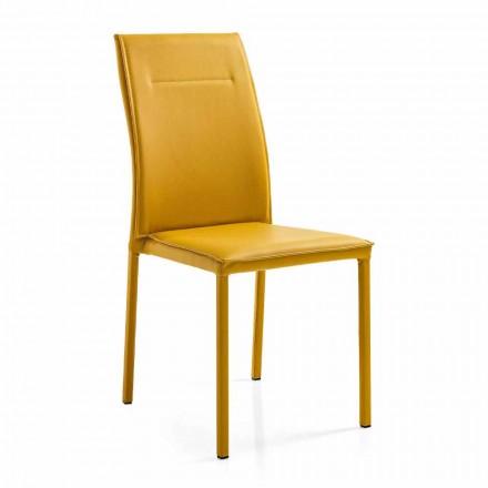 Jídelní židle v elegantním moderním designu 4 kusy - Granger