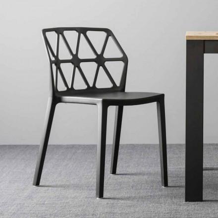 Polypropylenová židle Connubia od firmy Calligaris Alchemia vyrobená v Itálii