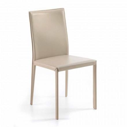 Moderní designová židle H88,5cm vyrobená v Itálii Carly