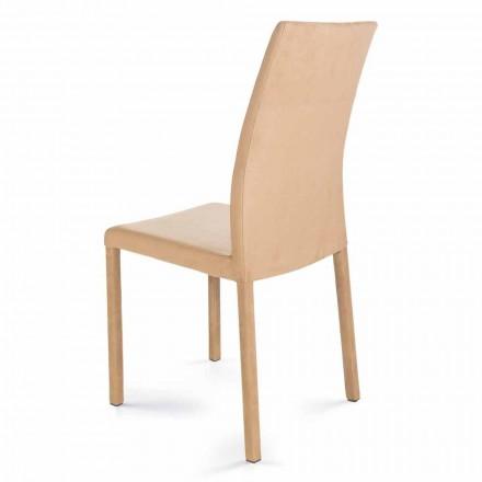 Moderní designová židle vyrobená v Itálii Jamila pro jídelnu