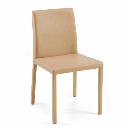 Moderní jídelní židle Jamila, ručně vyráběná v Itálii