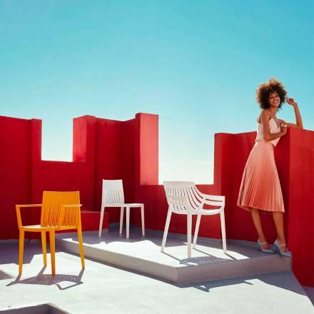 Venkovní židle Spritz by Vondom, z polypropylenu a skel, 4 kusy