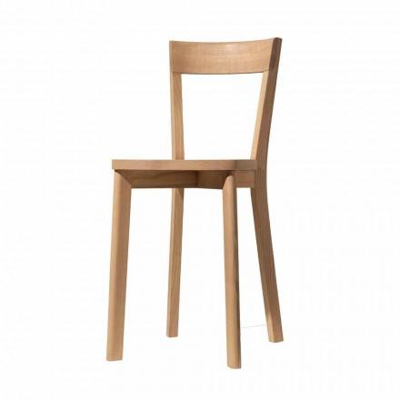 Jídelna židle v popelu a masivu vyrobené v Itálii - Alima