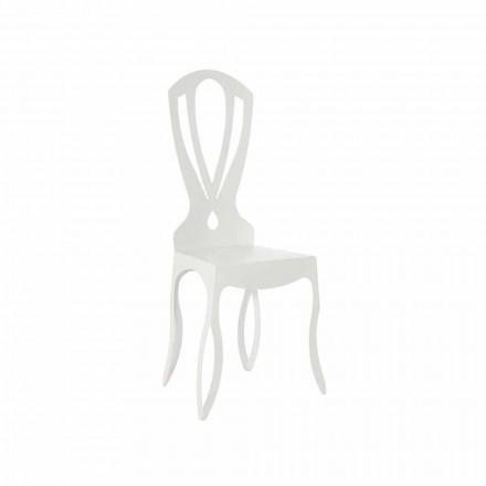 Moderní železná jídelní židle vyrobená v Itálii - Giunone