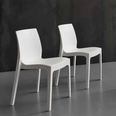 Moderní polypropylenová kuchyňská / jídelní židle Imperia