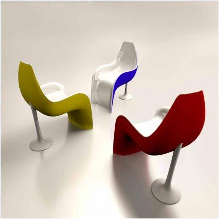 Pevný povrchový design židle / křeslo Helled Made in Italy