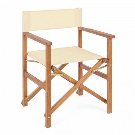Ředitelka židle Acacia Wood pro venkovní design do zahrady - Roxen