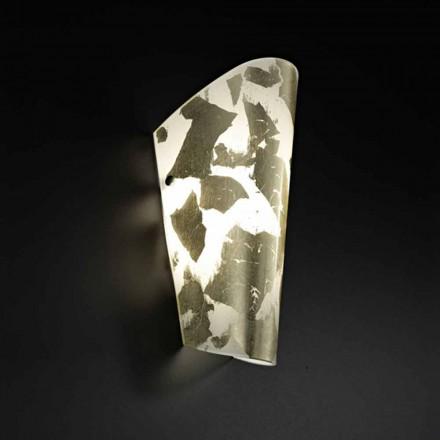 Selene Bloom nášivka sklo, ruční práce v Itálii 12x11 H28cm