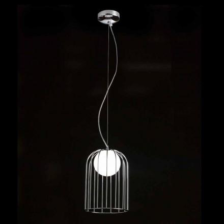 Selene Kluvì závěsná lampa foukané sklo Ø19 H 27 / 150cm