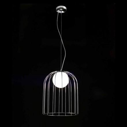 Selene Kluvì závěsná lampa foukané O33 H 41/150 cm sklo