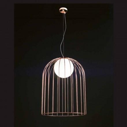 Selene Kluvì závěsná lampa foukané sklo Ø54 H 70 / 200cm