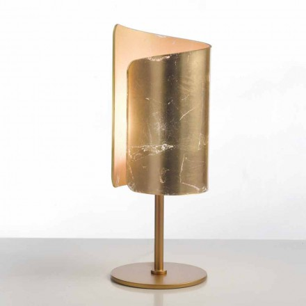 Selene Papiro návrhář stolní lampa krystal Ø15 H38cm