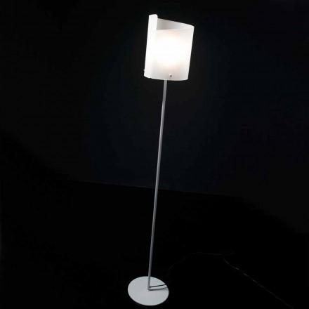 Selene Papiro projektant stojací lampa H185cm crystal O26