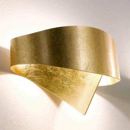 Selene Moderní nástěnné svítidlo vyrobené v Itálii Shield 29x15xH16 cm