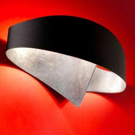 Selene nástěnné svítidlo Shield dvoubarevné moderní design 29x15xH16 cm
