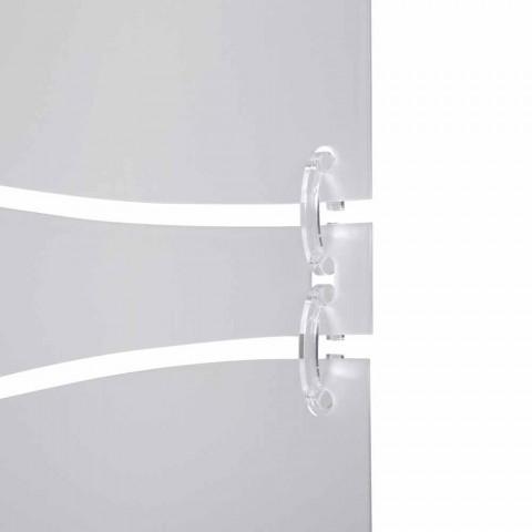 Booth moderní design v bílé barvě satén methakrylátového Mara