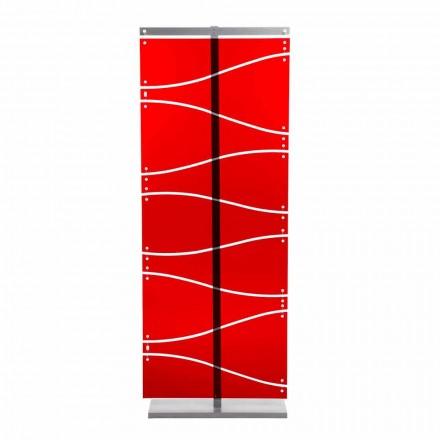 Booth moderní design v červeném methakrylátového nebo satén Evelyn