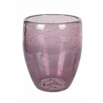 12 kusů barevných foukaných skleněných sklenic na vodu - Guerrero