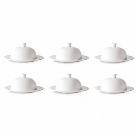 Cloche Service pro ploché nebo hluboké talíře 12-dílný luxusní design - Samantha