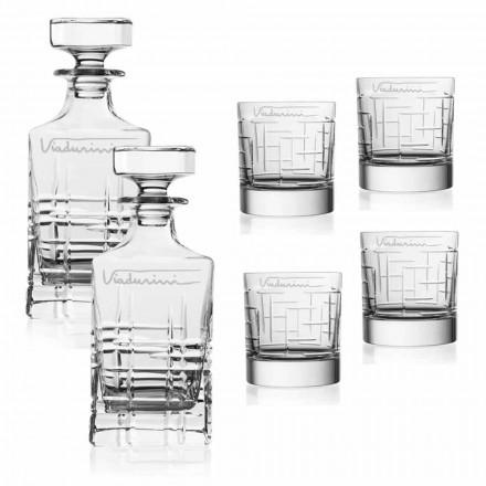 Služba Crystal Eco Whisky, přizpůsobitelná logem, 6 kusů - arytmie